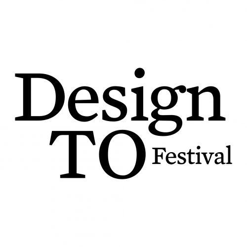Design TO Festival wordmark - black text/white background.