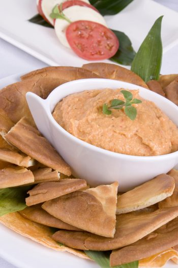 Sweet Potato Kidney Bean Hummus