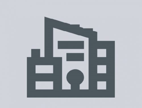 Icon image: grey box with outline of buildings