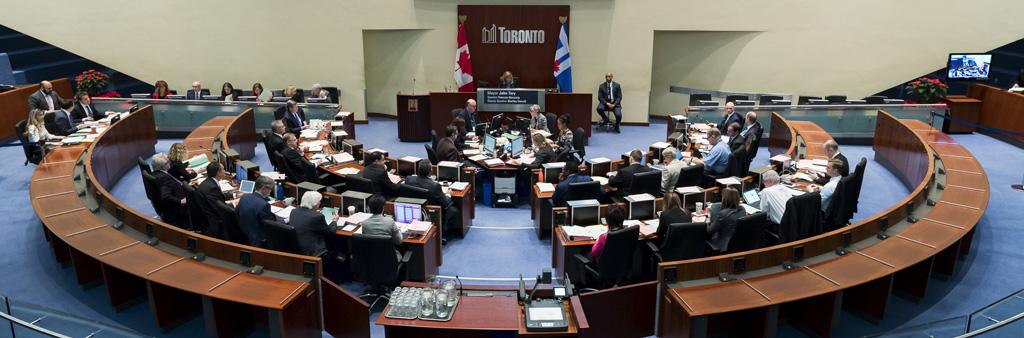 City of Toronto Council Chambers