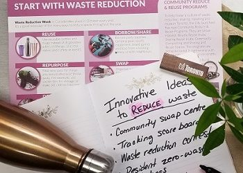 Waste Reduction Community Grants brochure image