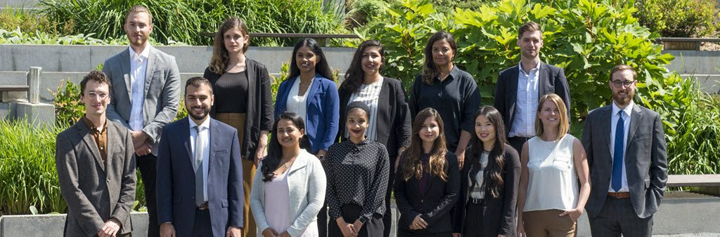 Toronto Urban Fellows Cohort, 2018-2019