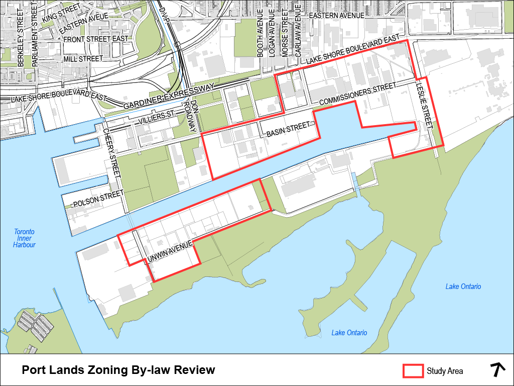 There are two areas included in the zoning review and in total the area is 200 hectares.