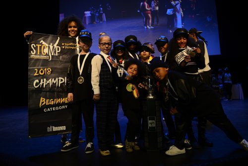 Stomp beginner champion - The Unknowns