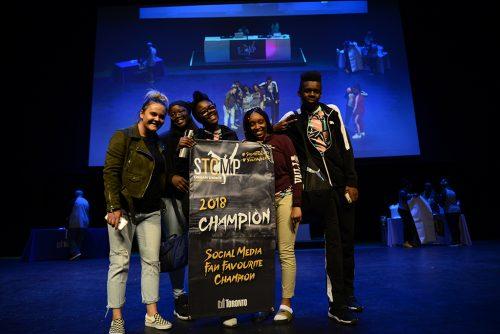Stomp social media fan favourite 2018 Dixon Dance Hall Crew