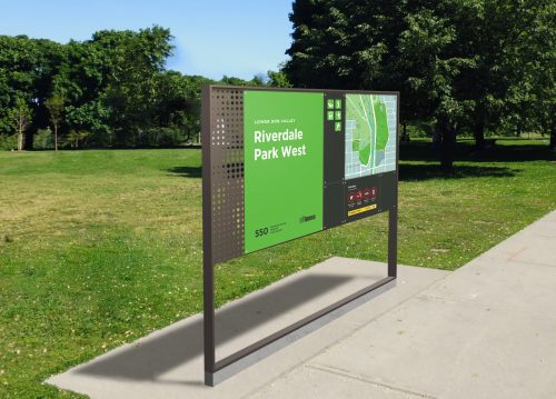 Image of the Parks Wayfinding Maps and Signs