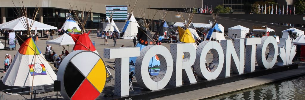 (IRSS) event on Nathan Phillips Square