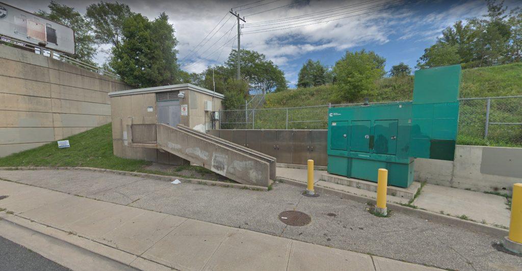 Warden sewer Pump Station