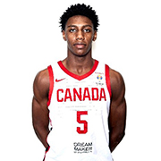 Toronto Sport Hall of Honour 2019 Inductee Rowan Barrett Jr., Athlete of the Year - Basketball