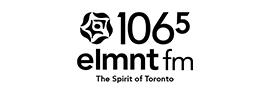 Element 106.5 logo