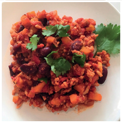 Picture of Sweet Potato & Turkey Chili