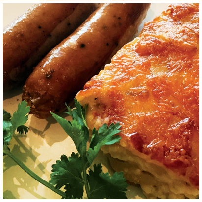 Picture of Bangers & Creamy Scalloped Potatoes