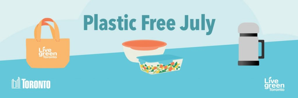 Plastic Free July Campaign Banner