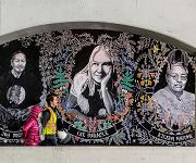 Underpass mural in Toronto