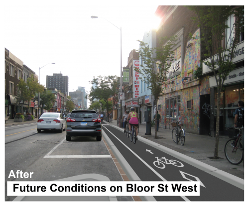 Future Conditions along Bloor