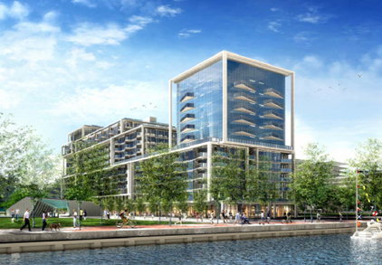 profile image of 261 Queens Quay East a mixed-use mid-rise residential condominium and retail building