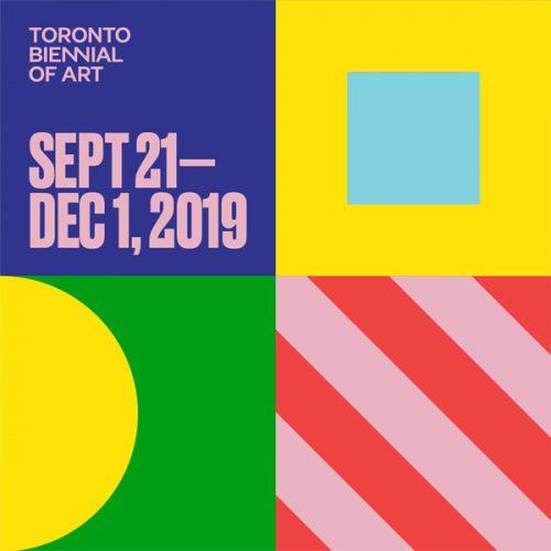 Toronto Biennial of Art logo