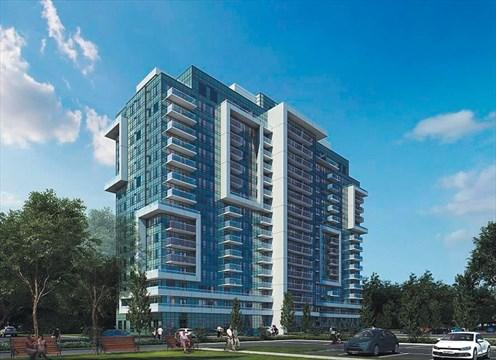 profile image of 1346 Danforth Road mid-rise residential condominium building