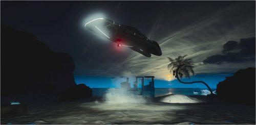 Image info: ShezadDawood. Leviathan Legacy Pt 1, 2018, VR environment