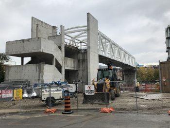 truss installed