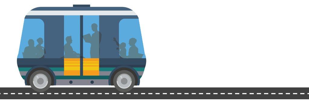 Automated Shuttle mini bus