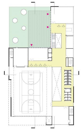 The floor plan of level 2