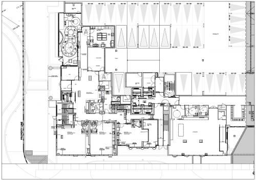 Plans for the Avani Child Care Centre