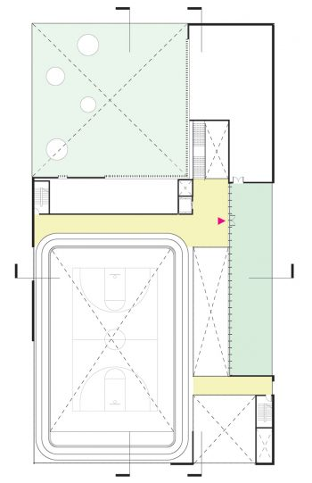 The floor plan of level 3