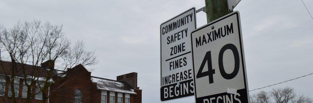 Community Safety Zones Vision Zero City Of Toronto