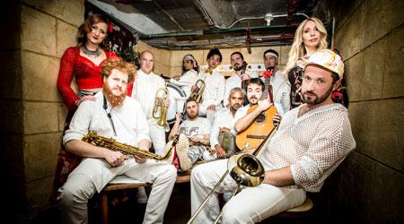 Toronto based band Lemon Bucket Orkestra
