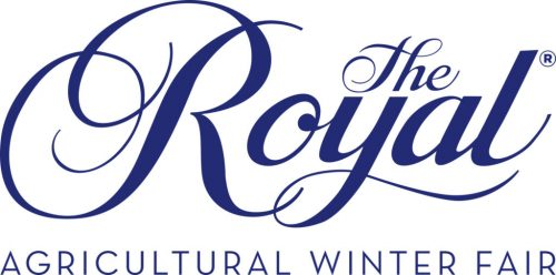 The Royal Agricultural Winter Fair wordmark - royal blue on white background