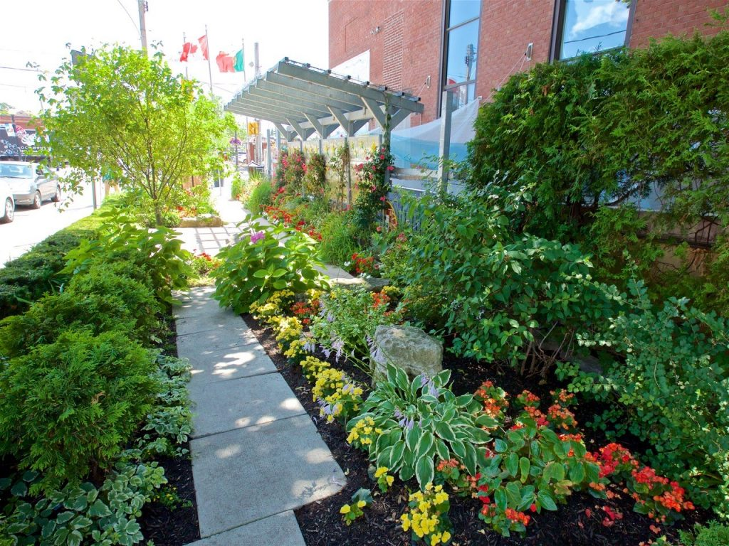 Camoes Square, 722 College St.: 1st place winner for best garden in the high-density community category of the 2019 Garden Contest.