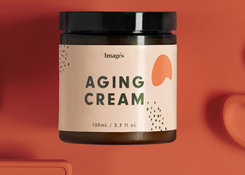 A fake bottle of aging cream.
