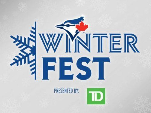 Winter Fest logo - Blue Jays logo on top.