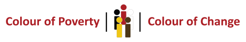 Logo of Colour of Poverty Colour of Change the 2019 William P Hubbard Race Relations Award Winner