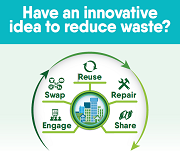 Promotional image to encourage residents to apply for waste reduction grants