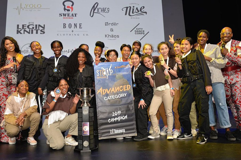 A group photo of the members of OCS Synergy Dance Crew