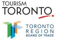 Tourism Toronto and the Toronto Region Board of Trade logos