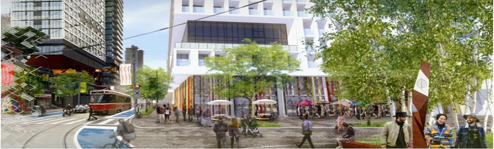 Artist's rendering of the ICIE at street level