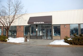 Exterior image of the Attwell Employment and Social Services location