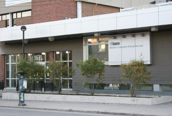 Exterior image of the Beaches Employment and Social Services location
