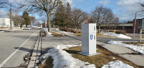 Automated Speed Enforcement camera box