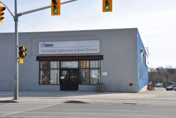 Exterior image of the York Humber Employment and Social Services location