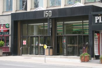 Exterior image of the Yonge Eglinton Employment and Social Services location