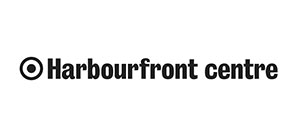 Harbourfront Centre Logo in black and white