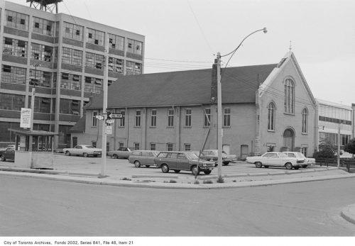 Facade of Grant African Methodist Episcopal Church