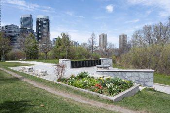 Air India Flight 182 Memorial at Humber Bay Park East