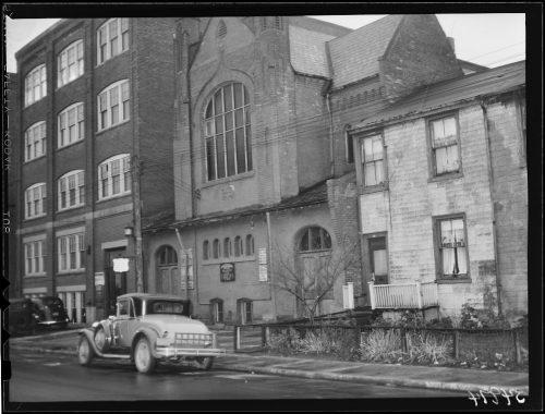 Facade of British Methodist Episcopal Church
