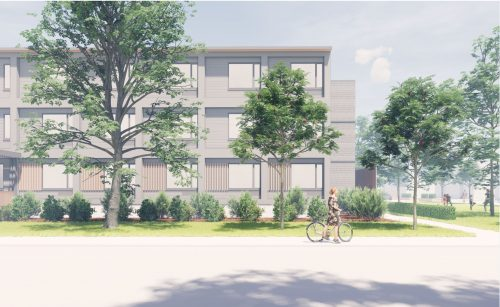 Modular Transitional Housing PHASE 1 : 150 Harrison Street Dovercourt frontage