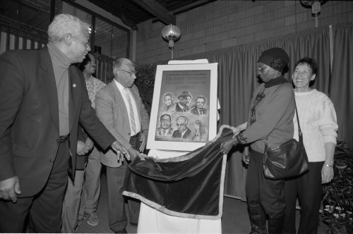 Unveiling of Black History Month poster
